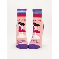 Bitches Get Stuff Done Women's Ankle Socks