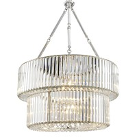 Double Layered Glass Chandelier | Eichholtz Infinity