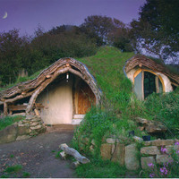 Hand-Built Earth Sheltered House: Green Building Elements