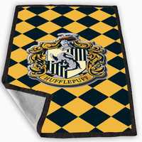 harry potter hufflepuff house Blanket for Kids Blanket, Fleece Blanket Cute and Awesome Blanket for your bedding, Blanket fleece **