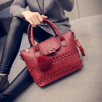 Winter Tote Bag Stylish Fashion Shoulder Bags Lock Messenger Bags [6582862727]
