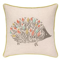 Porcupine Parks Printed Pillow