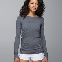 swiftly tech long sleeve crew | women's sweaters | lululemon athletica