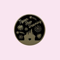 Never Stop Dreaming Pin