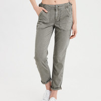 AE Twill X Tomgirl Pant, Olive