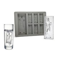 Star Wars Ice Tray Han Solo Cocktails Ice Cube Silicone