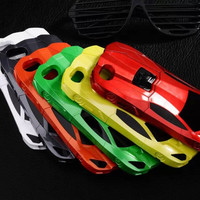 Perfectly COOL Designer 6 Colors 3D Sports Car Multipurpose Stand Holder Hard Phone Case for iphone 4 4s 5 5s iphone 6 Samsung galaxy S3 S4