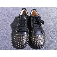 Christian Louboutin CL Low Style #2047 Sneakers Fashion Shoes Online