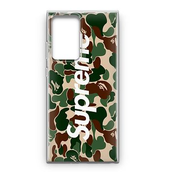 Bape Collaboration Samsung Galaxy Note 20 Case