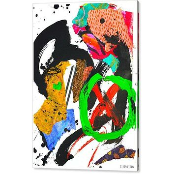 X Marks the Spot Archival Giclee Print on Stretched Canvas