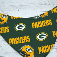 Go Packers, CottonBandana BibInstock and ready to ship