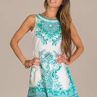 Garden Party Dress - Mint