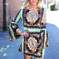 Prettiest Medallion Dress