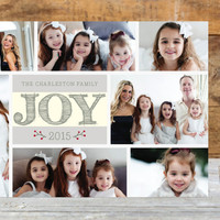 Joy With Frames Holiday Petite Cards by aticnomar | Minted
