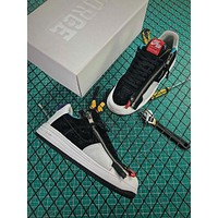 ACRONYM x Nike Lunar Force 1 SP Black White Fashion Shoes