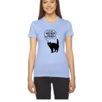 With Great Moustache Comes Great Responsability - Women's Tee