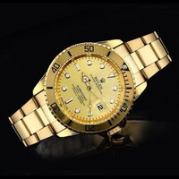 Rolex Ladies Men Fashion Trending Quartz Watches Wrist Watch G