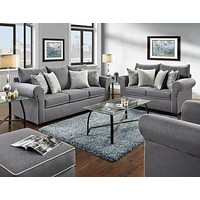 5040 - The Spellbound Living Room Set - Grey