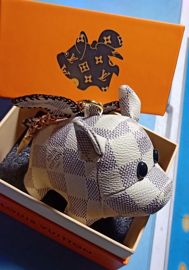 Image of Louis Vuitton LV Cute Pig Charm And Key Holder