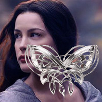 Lord Of The Rings Arwen Butterfly Brooch