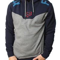 Fox Racing Men's Rotor Pull Over Long Sleeve Fleece Hoodie
