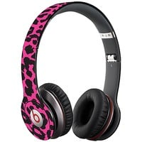 Pink Leopard Skin  for the Beats Solo HD by skinzy.com