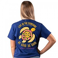 Save - Sunflower Turtle - SS - Adult T-Shirt