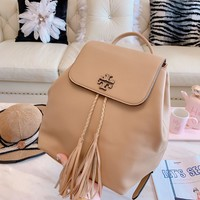 Tory burch Arrival Bag Couple Shoulder Bag Student Bag Lightwight Backpack Womens Mens Bag Travel Bags