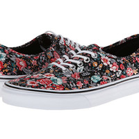 Vans Authentic™ (Multi Floral) Black/True White - Zappos.com Free Shipping BOTH Ways