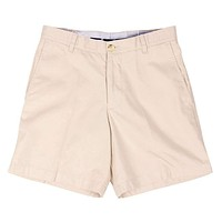 """The 7"""" Skipjack Short in Stone by Southern Tide"""