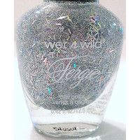 Wet N Wild Fergie Nail Polish # A001  Years Kiss Holographic Glitters Ltd