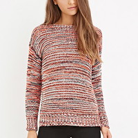 Marled Knit Sweater