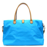 Oversized Tosca Tote Handbag - Choice of Colors,One Size,Light Blue