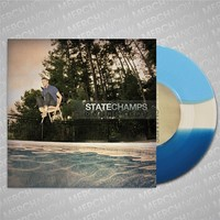 "Overslept Dark Blue / Clear / Light Blue 7"" : MerchNOW"