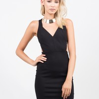 Side Cut Out Party Dress