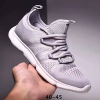FILA Trending Men Breathable Sport Running Shoes Sneakers Grey