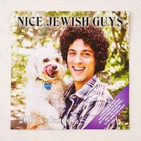 2017 Nice Jewish Guys Wall Calendar - Urban Outfitters