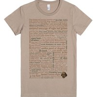 Shakespeare Insults T-shirt - Revised Edition (100