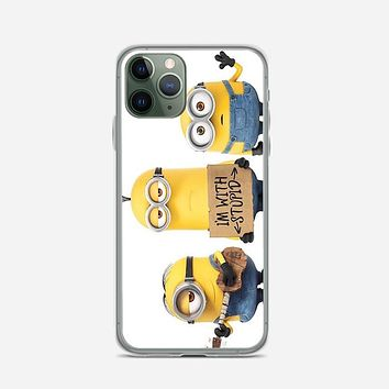 Minions Say Nobody Move iPhone 11 Pro Case