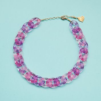 Passion Fruit Clear Choker
