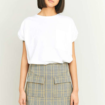 Urban Outfitters Scout Yellow Plaid Pelmet Skirt - Urban Outfitters