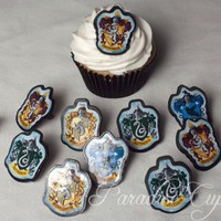 Harry Potter School Crest Rings