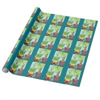 Luck And Fortune Wrapping Paper