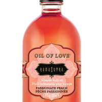Kama Sutra Oil Of Love - 3.4 Oz Passionate Peach