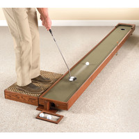 The Handcrafted Adjustable Putting Green