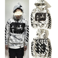 Off White Hoodies Men Sweatshirt Hip Hop Tracksuit Autumn Streetwear Skateboard Fleece 2017 Fashion kanye West ZOOTOP BEAR 002