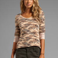 Free People Printed Thermal in Sand Combo from REVOLVEclothing.com