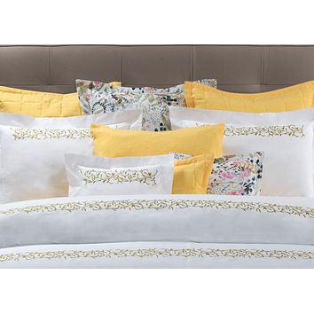 Selvaggia Embroidery Bedding by Dea Linens