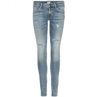 citizens of humanity - racer distressed skinny jeans