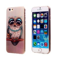 Fashion Owl Tower Flag TPU Silicone Soft Case For Apple iphone 6 iphone6 Back Skin Cover Cell Phone Protect ShockProof Bag